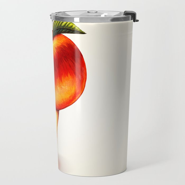 Peach Girl Travel Mug