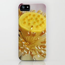 Blossom of Lotos - Lotus Flower iPhone Case