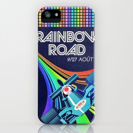 Rainbow Road Grand Prix iPhone Case