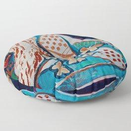 Drained Floor Pillow
