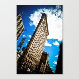 Flat Iron Canvas Print