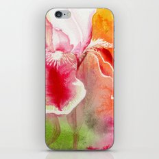 Iris, Magenta, Orange, Green DdFlowers iPhone & iPod Skin