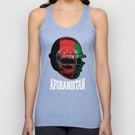 Afghanistan Cricket Kit : 2019 Afghani International Fans Gift Unisex Tank Top