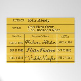 KEN KESEY (1962) Welcome Mat