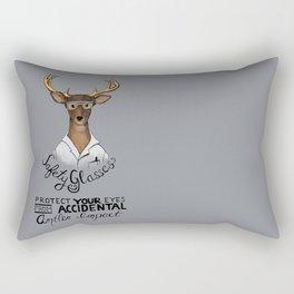 Safety Glasses Rectangular Pillow