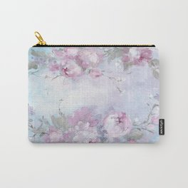 Crown Rose Carry-All Pouch
