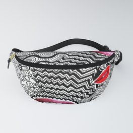 Tangled Lips Fanny Pack