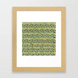 Jungle Camo Framed Art Print