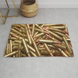 Bullets Ammo For Rifle Gun Shooting Sports or Hunting Rug