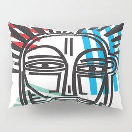 Life Lines - Face,  No.4 Pillow Sham