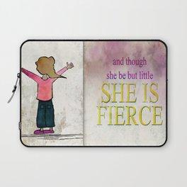 She is Fierce Ginkelmier Laptop Sleeve