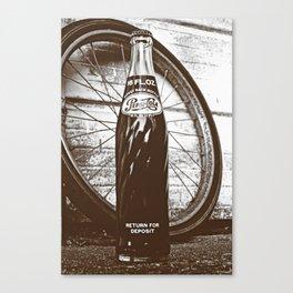 Pepsi-Cola classic Canvas Print