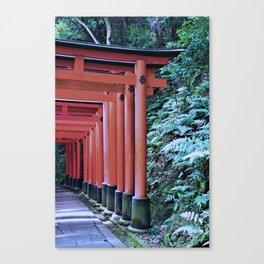 Inari Gates Galore Canvas Print