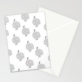 Safari Bird - Guinea Fowl Stationery Cards