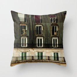 Parisian Windows. Throw Pillow