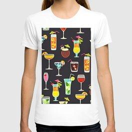It's 5 O'Clock Somewhere Cocktails T-shirt