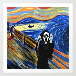 """Cult Classic #3 """"Scream"""" Art Print"""