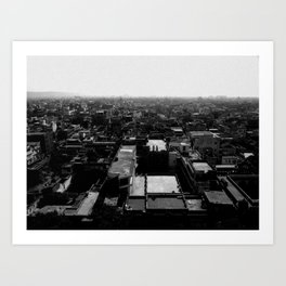 Jaipur View Art Print