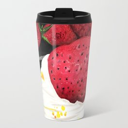 Strawberry Dream Travel Mug