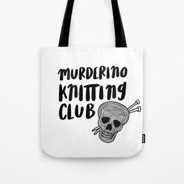 Murderino knitting club Tote Bag