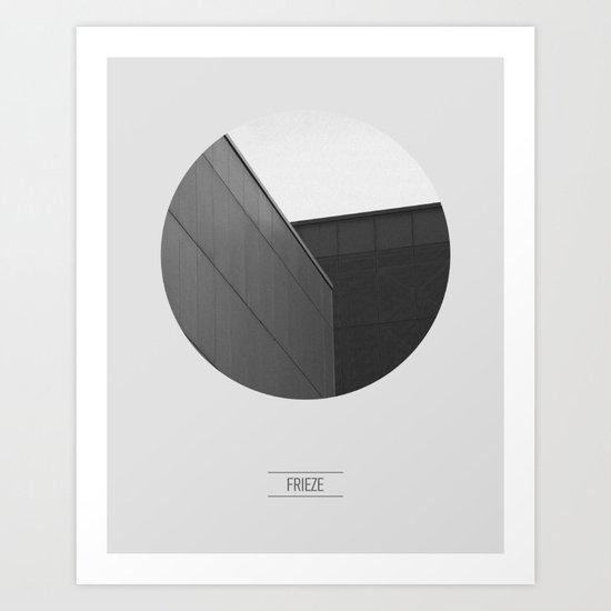 FRIEZE Art Print