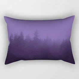 Licorice Forest with Ultra_Violet Fog, Alaska Rectangular Pillow