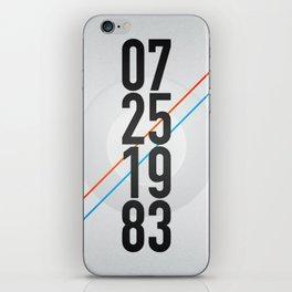 07/25/1983 iPhone Skin