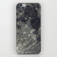 the moon iPhone & iPod Skins featuring Moon by Pete Baker