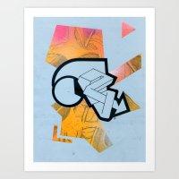 Reusable Directions No. 002 Art Print