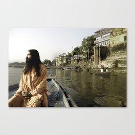 Sadhu Nityanand Canvas Print