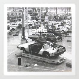DMC Factory Art Print