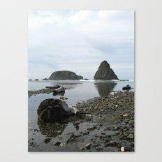 Stormy Coast II Canvas Print