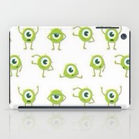 monster inc iPad Cases featuring Monster's Inc. by Pink Berry Patterns
