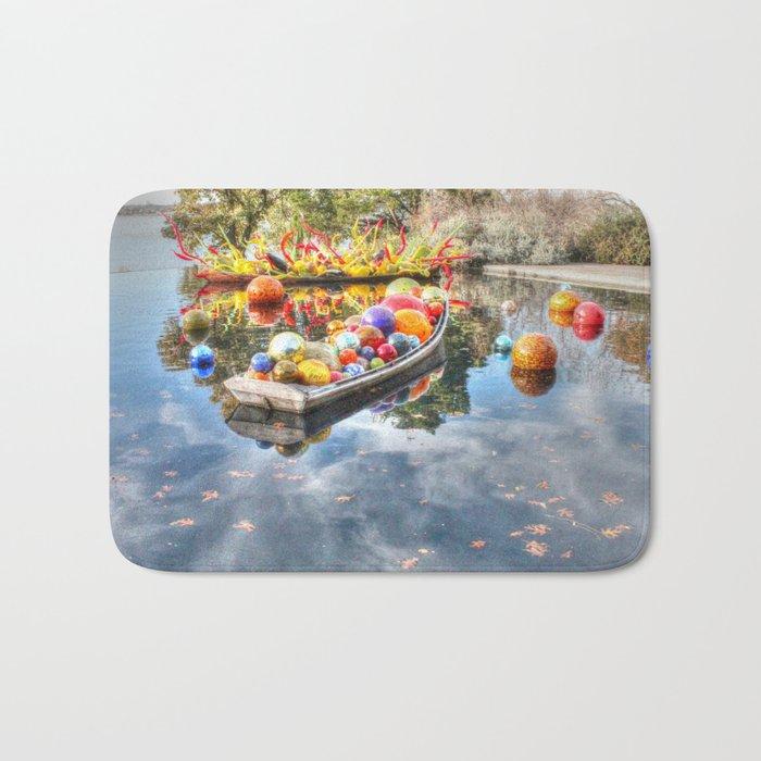 Floating Glass Bath Mat