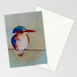 Malachite Kingfisher Stationery Cards