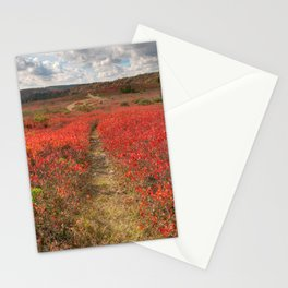 Autumn Huckleberry Trail Stationery Cards