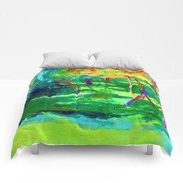 Jozef Mehoffer Strange Garden Comforters