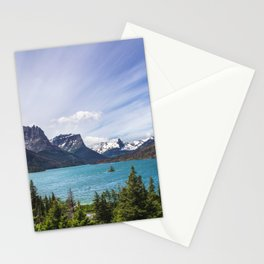 Half way down the lake Stationery Cards
