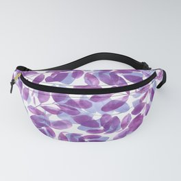 Layered Leaves Fanny Pack