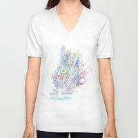 dj V-neck T-shirts featuring soul dj by frederic levy-hadida