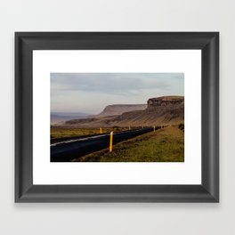 The Road to Realized Dreams Framed Art Print