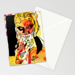 Woman #01 Stationery Cards