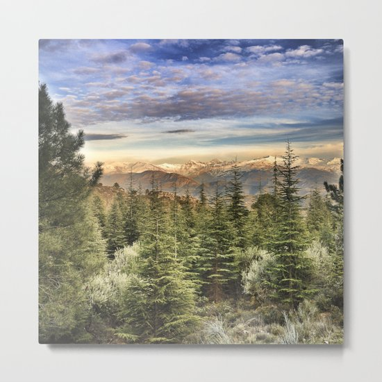 """""""Wildderness"""". Adventure at the mountains... Metal Print"""