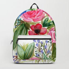 Watercolor Floral Bouquet No. 1 Backpack