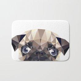 Pug Diamonds Bath Mat