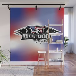 WWGKW Logo - Red, White & Blue Wall Mural