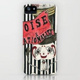 Poise & Rationality iPhone Case