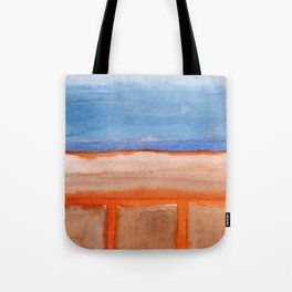 Firery Traces at the Seaside Tote Bag