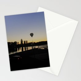 Off in the sunset Stationery Cards