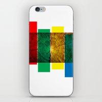 reggae iPhone & iPod Skins featuring Reggae by Ev@d Art$